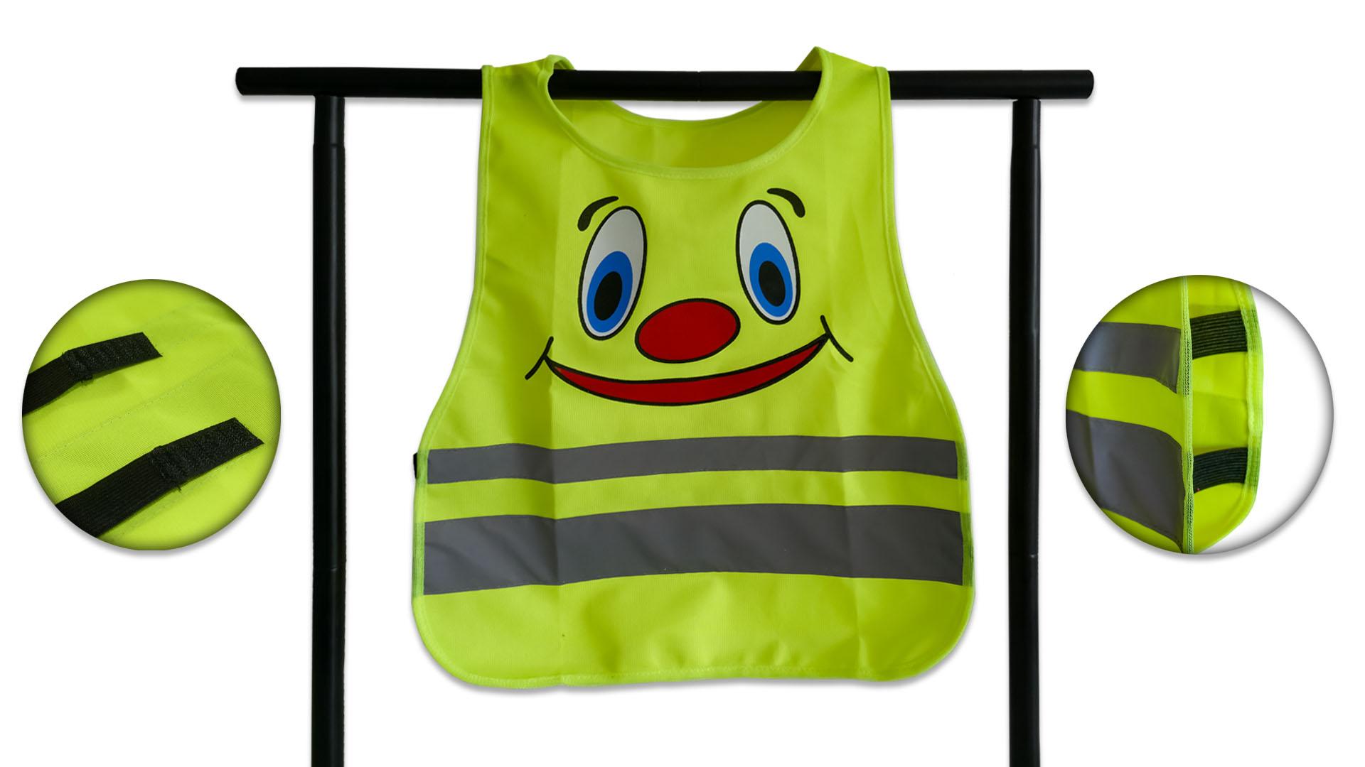 Warnweste für Kinder mit Aufdruck Image