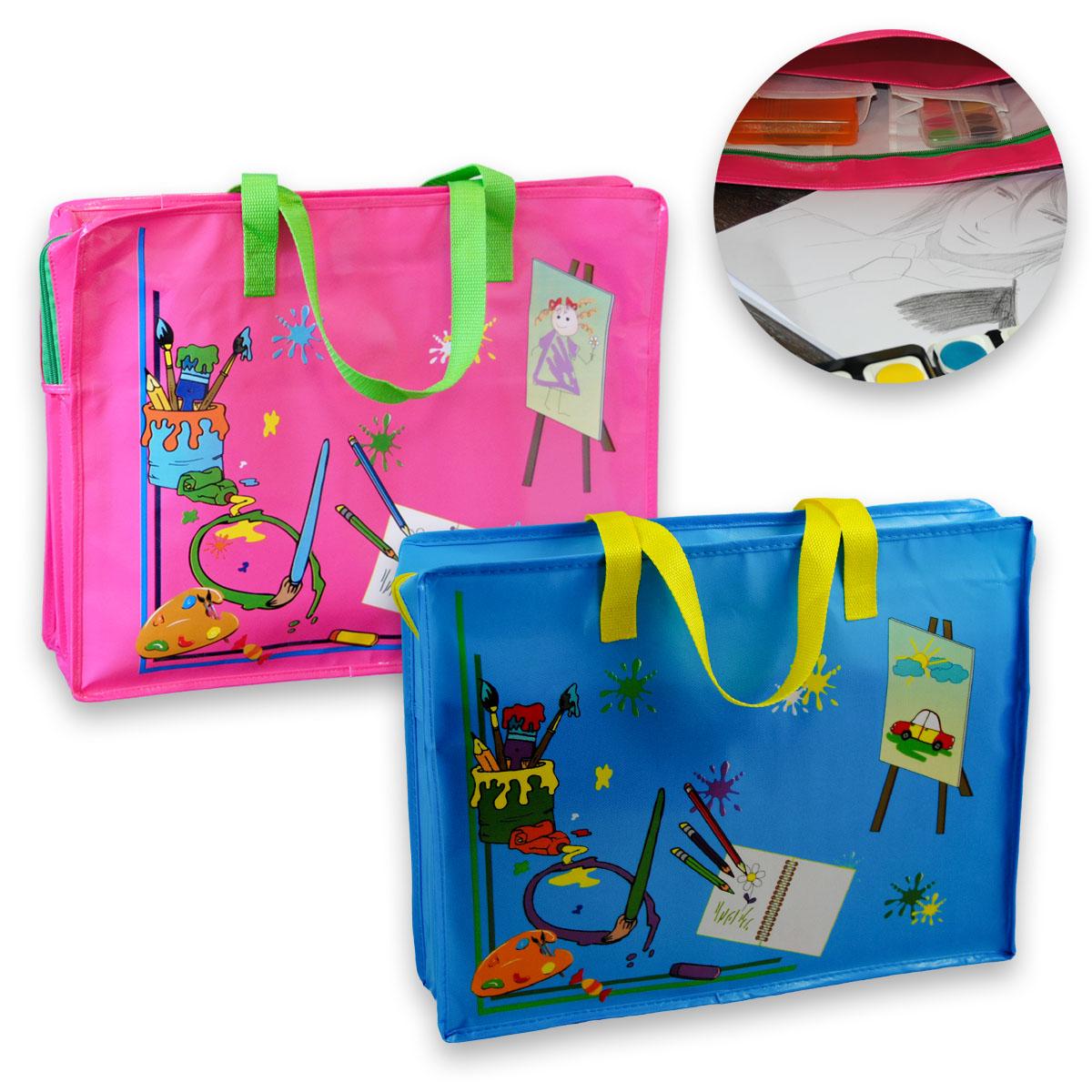 Mal- und Zeichentasche 46 x 36 cm groß, in trendigen Farben Image