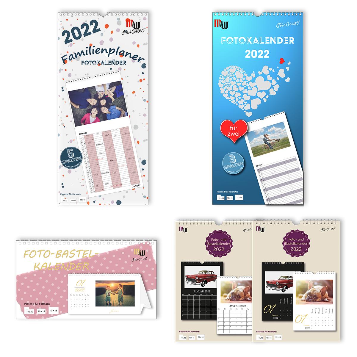 Sortimentskarton Kalender 2022 zum Selbergestalten Image