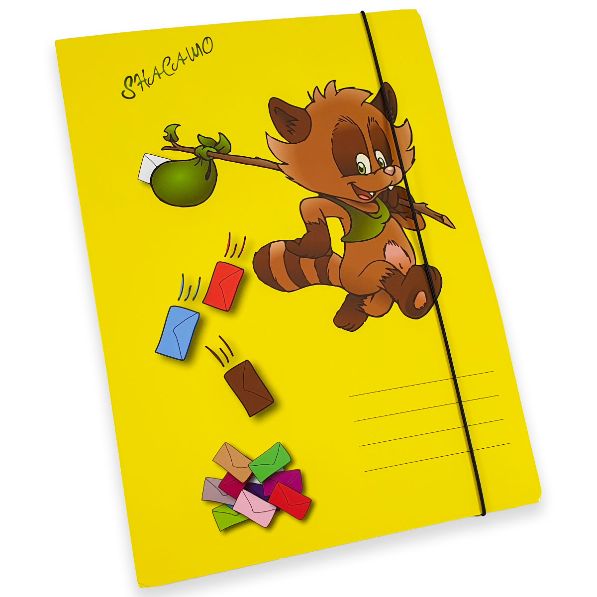 Postmappe mit Gummizug Image