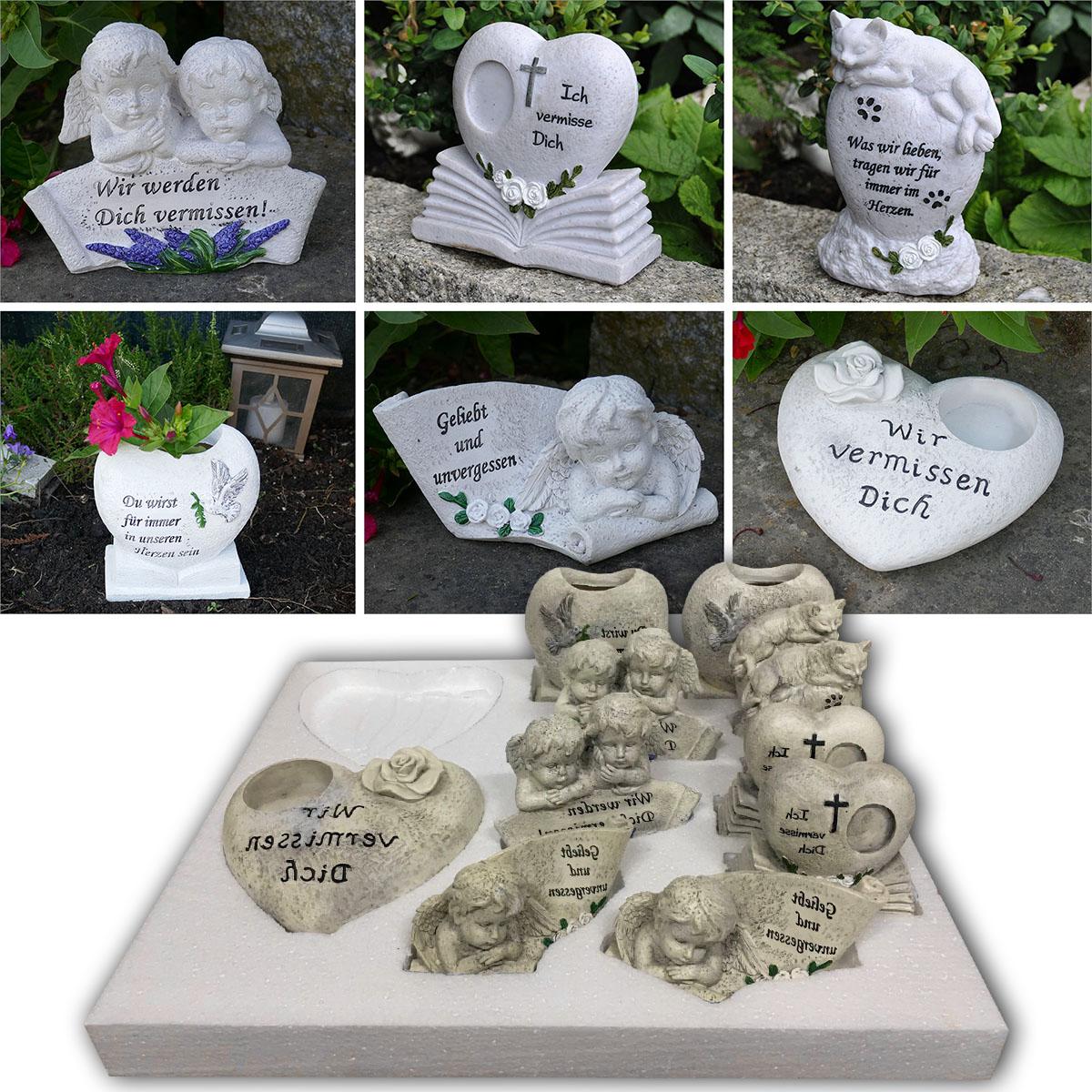 12-tlg. Grabdekorationen für Mensch und Tier im Verkaufsdisplay Image