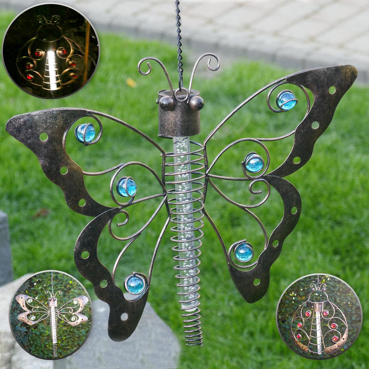 Dekorative Solar-Lampe aus Metall Image