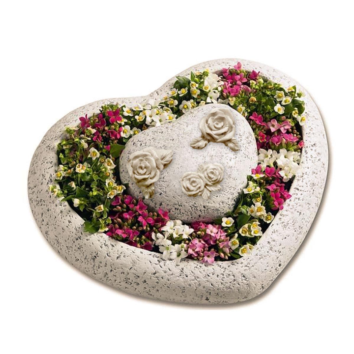Pflanzenschale Herz 2-tlg. Image