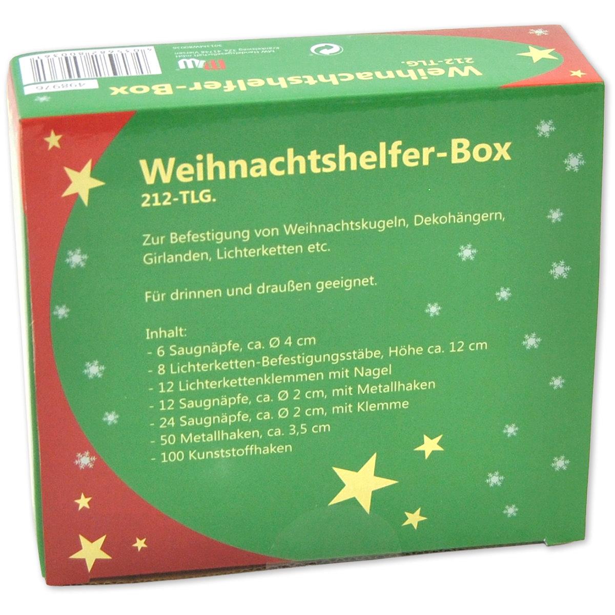212-tlg. Box mit Weihnachtshelfern Image