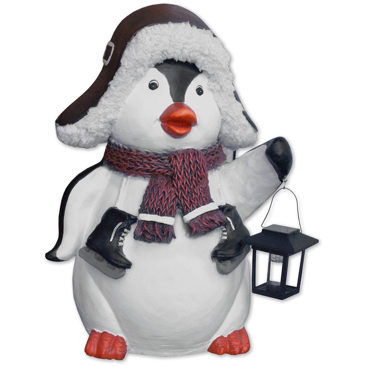 Niedlicher Pinguin mit Solar-Lampe Image