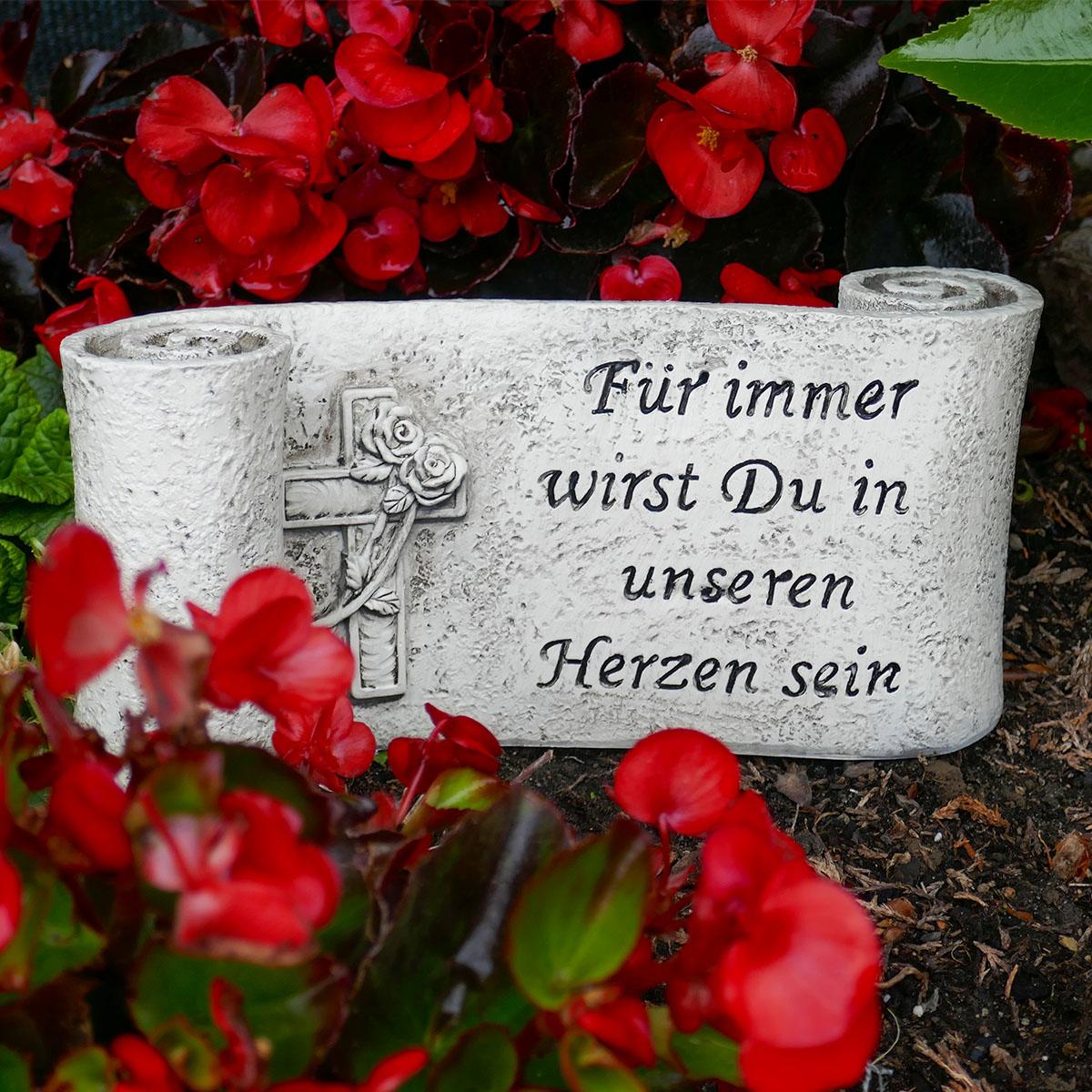 Grabschmuck Spruchband Image