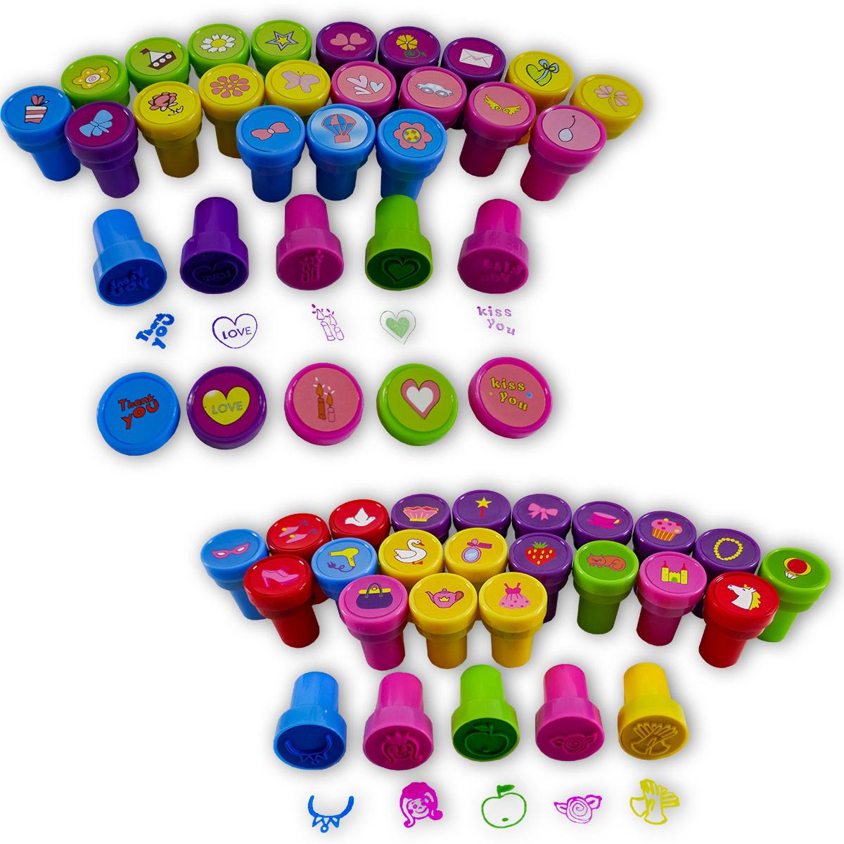 26-tlg. Stempel-Set mit verschiedenen Motiven Image