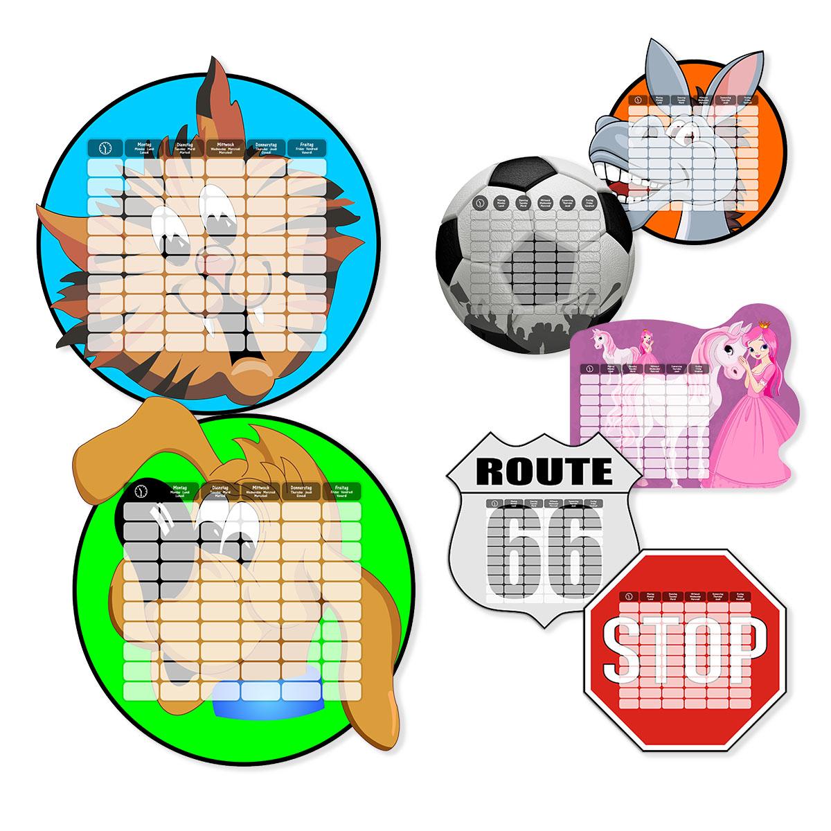 Stundenplan aus Holz Image