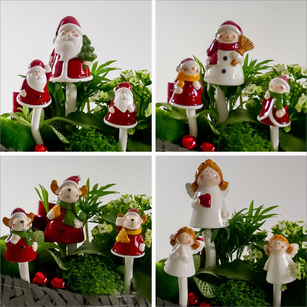 Weihnachtsdeko Klangstecker Image