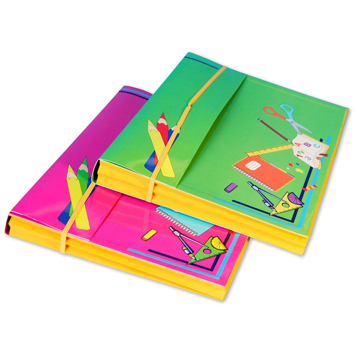 Heftbox mit Harmonikafunktion in 2 trendigen Farben, 55472 Image
