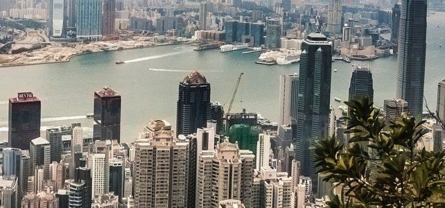 Die Skyline von Hongkong fotografiert von Cherster Ho