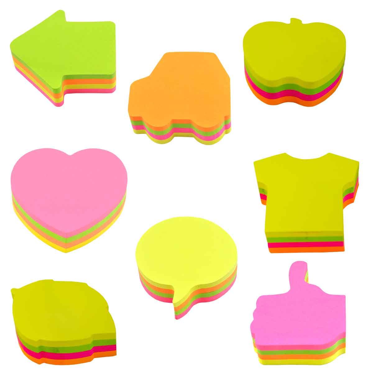 Haftnotiz-Würfel in verschiedenen Formen Image